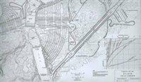 1947年三峡工程设想图(美国垦务局)